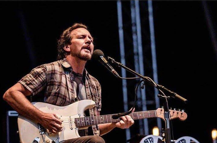 Eddie Vedder at Heartland Festival, Denmark. June 3, 2017.